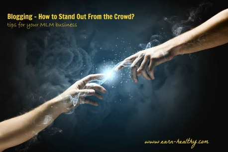 Blogging-stand out