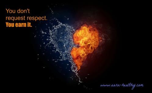 respect earned
